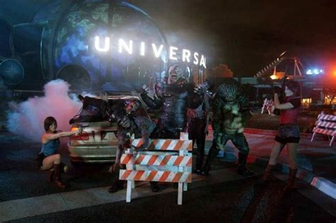 theme park zombie resident evil theme park attraction opens in japan neatorama
