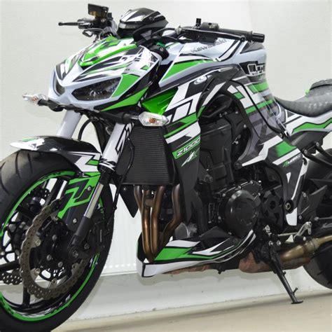 Kawasaki Z Aufkleber by Motorradaufkleber Bikedekore Wheelskinzz Kawasaki