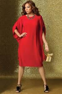 Option for a plus size christmas party dress this chic dress from