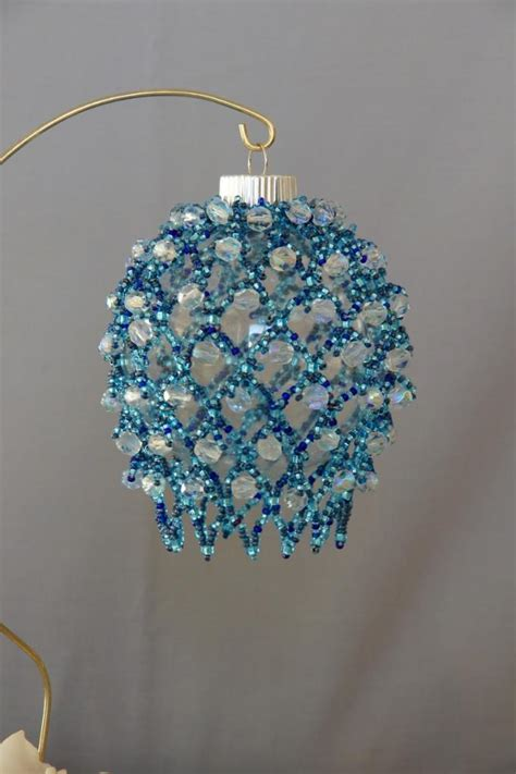 diy tutorial easy crafts beaded christmas ornaments