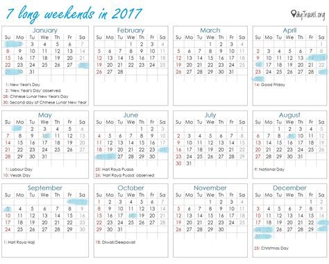 Calendar 2017 Excel Nz January 2017 Calendar With Holidays Usa Uk Canada