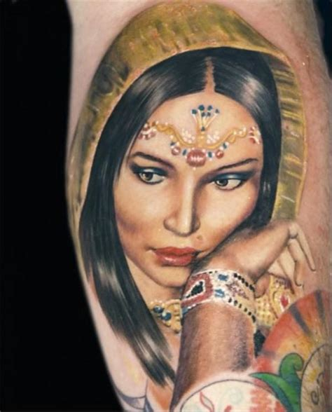 indian lady tattoo designs 50 creative ideas for