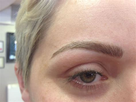 permanent eyebrow tattoo semi permanent brow embrowdery tried and tested