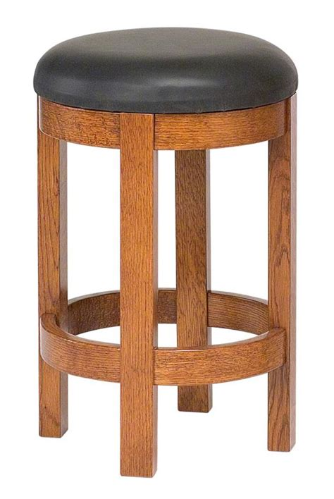 raleigh quartersawn white oak bar stool gallery in barrel swivel bar stool from dutchcrafters amish furniture