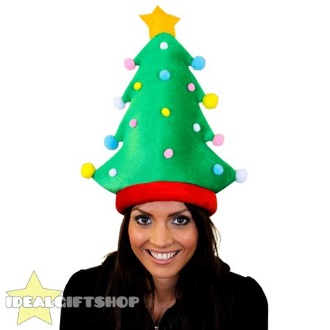 animated christmas tree hats adults hats presents fillers fancy dress ebay