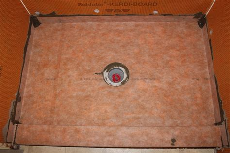 Kerdi Shower Pan Reviews by Drain Cutout For Your Kerdi Membrane