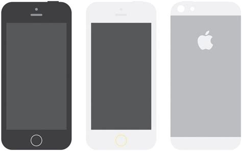 iphone layout vector flat apple device mockups for download
