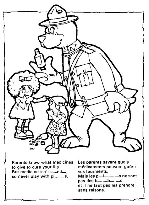 mcgruff the crime dog coloring pages coloring home