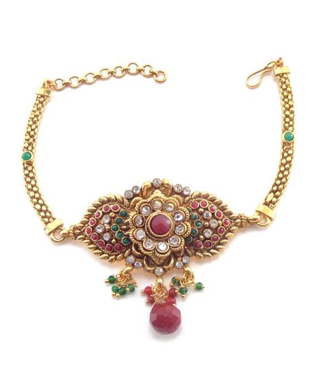 Antique Jewellery Bajuband nishiz antique kundan bajuband armlet buy nishiz antique kundan bajuband armlet in