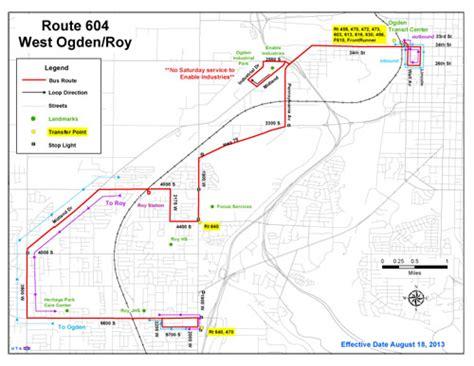 uta cus map utah transit authority
