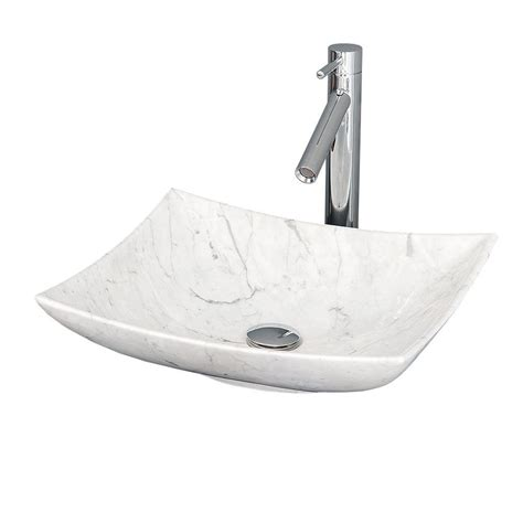 Home Depot Vessel Vanity by Wyndham Collection Arista Vessel Vanity Sink In White Marble Wcgs6 The Home Depot