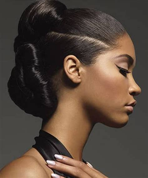 Hairstyle For Black Hair by Ponytail Wedding Hairstyles For Black Hair Wedding