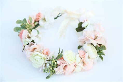 Flower Hairband pastel flower crownflower headband headband wedding flower