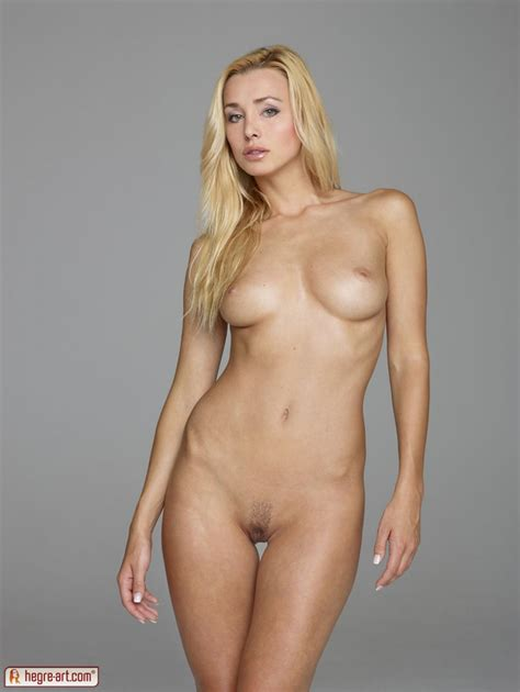 Perfect Blonde Nude Body Exposing In Single Standing Pose Hot Sexy Girls Photos