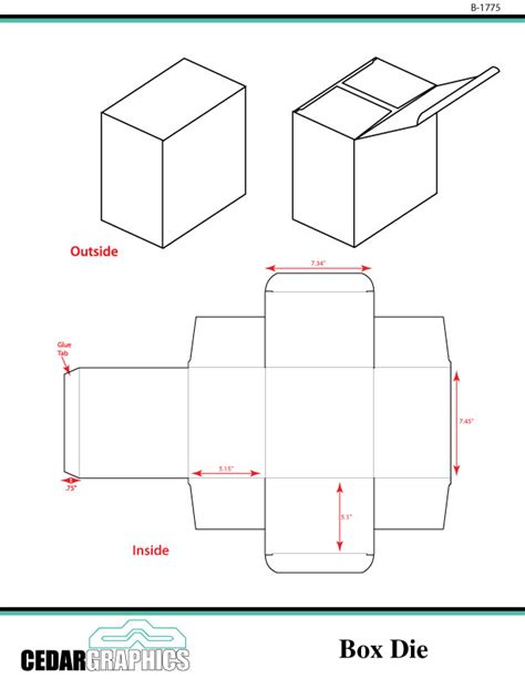 box template design small box template adobe indesign eps and pdf