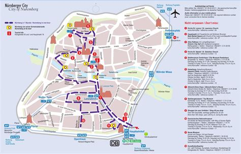 tourist map germany n 252 rnberg tourist attractions map