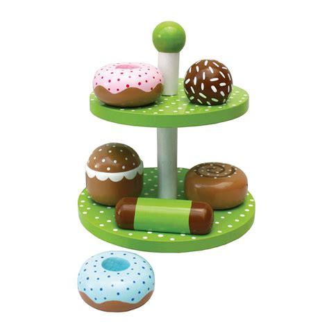etagere rice kinder holz etagere mit donuts geb 228 ck jabadabado kaufen