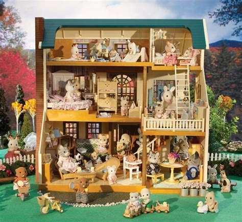 calico critters deluxe village house calico critters wallpaper for houses wallpapersafari