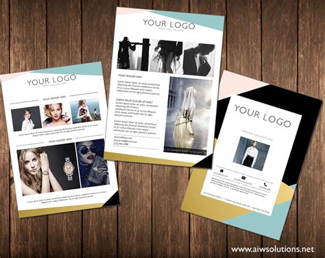 gallery of marketing flyer templates template creative market