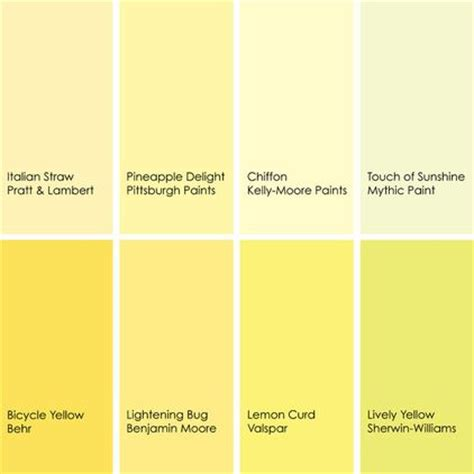 shades of yellow paint by jennifer ott interior design yellow paint ideas painting the house pinterest benjamin