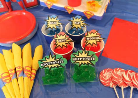 Superman Birthday Giveaways - superman birthday party happy and blessed home