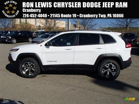 jeep trailhawk white 2014 bright white jeep trailhawk 4x4 87864813