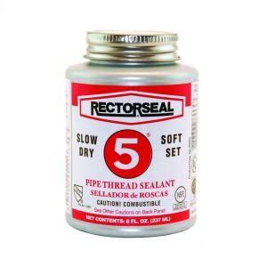 rectorseal  oz  pipe thread sealant   home