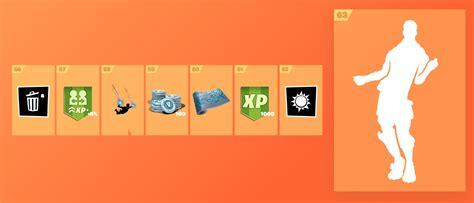 battle pass tier  reward  fortnite season