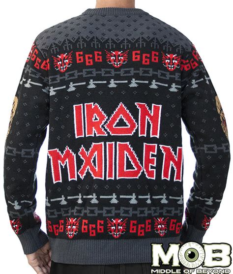 Sweater Iron Maiden A Journal Of Musical Thingstoday S Shopping Item