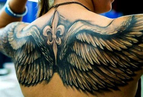 imagenes tatuajes alas de angel 15 ideas de tatuajes de alas de hombre mujer fotos