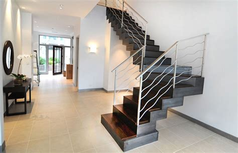 Custom Staircase Design Custom Stair Fabrication Installation For Commercial Residential