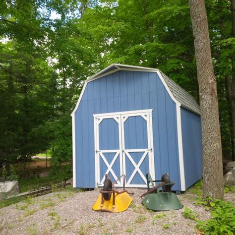 Gambrel Storage Shed by High Wall Gambrel Roof Storage Shed Better Way Sheds