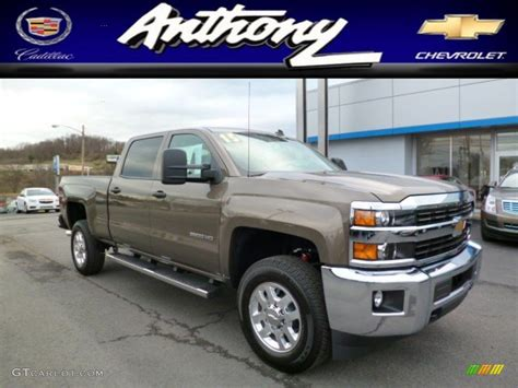 2015 silverado colors 2015 brownstone metallic chevrolet silverado 2500hd lt