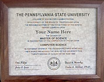 Psu Mba Degree by Information About Some Degree Granting Institutions Not