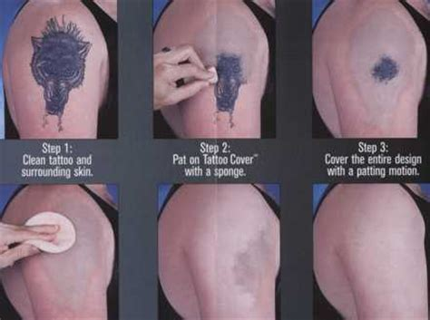 Various Types of Tattoo Cover Make Ups
