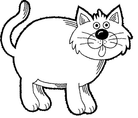 cat coloring pages kids world