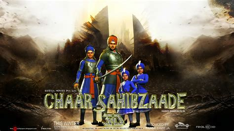 sikh warriors chaar sahibzaade  hd  wallpapers