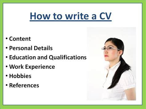 make curriculum vitae resume visihow