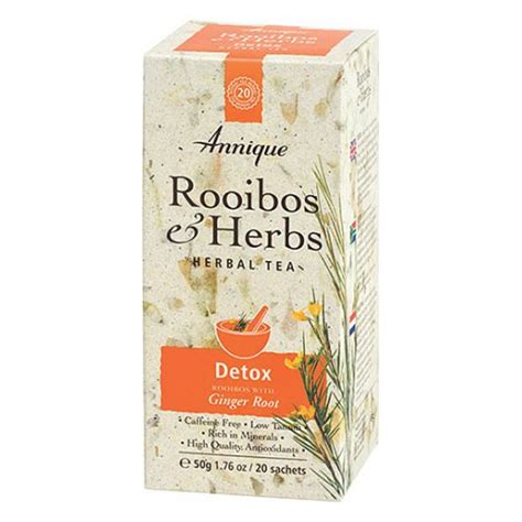 Detox Tea Cold by Rooibos Detox Tea 20 Teabags