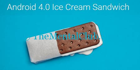 android 4 0 icecream sandwich list of all android versions the mental club