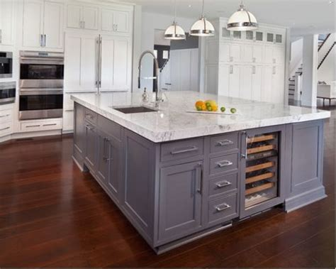 sink in island houzz kitchen island sink design ideas remodel pictures