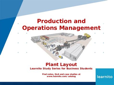 plant layout objectives ppt plant layout