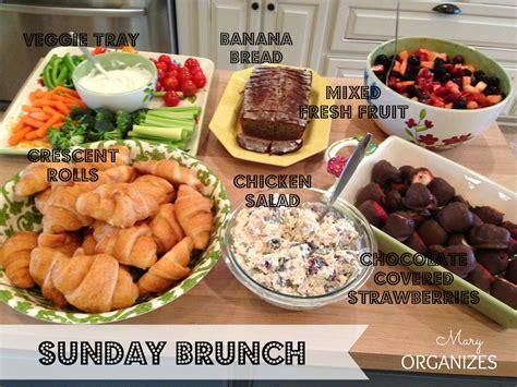 Wedding Blessing Manchester by Sunday Brunch Menu Creatingmaryshome