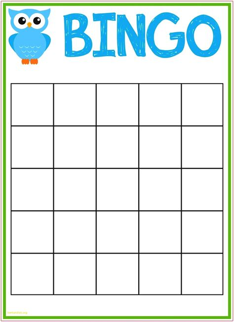 bingo template word lovely blank bingo card template microsoft word