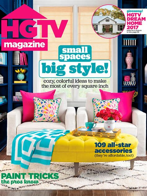 Hgtv Magazine Cover Giveaway - recreate hgtv magazine covers hgtv