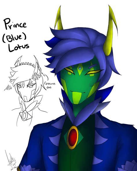prince lotus prince blue lotus by darkdeathqueen on deviantart
