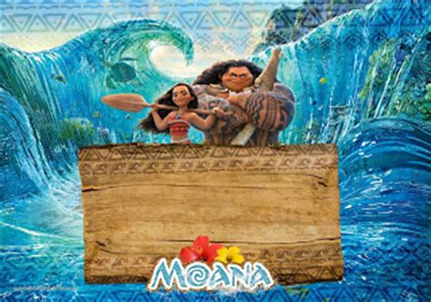 moana card template moana free printable invitations oh my in