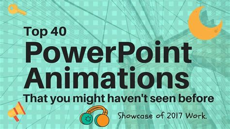 best powerpoint tutorial youtube top 40 best powerpoint 2016 animation motion graphics