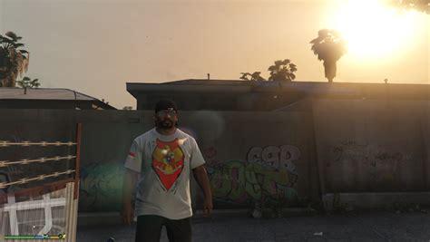 Kaos Gta V Grand Theft Auto V kaos 17 agustusan indonesia garuda di dadaku gta5 mods