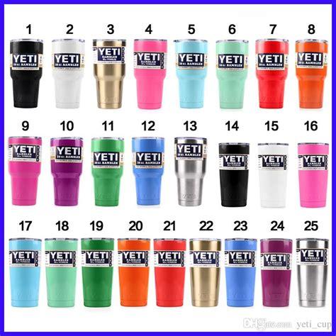 yeti coolers colors multi color yeti cup powder coated 20oz 30oz yeti rambler